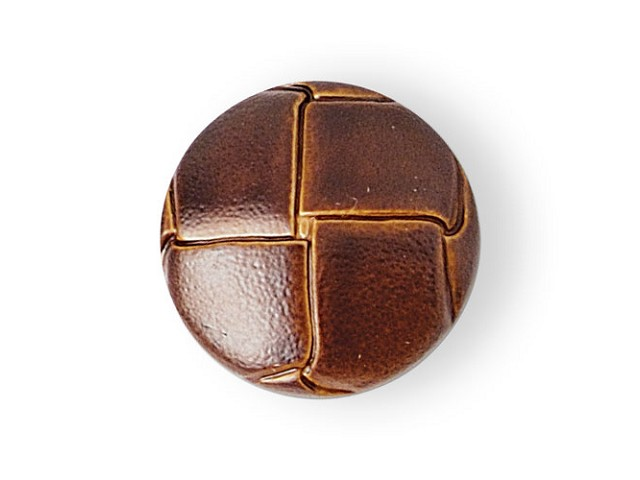 Leather imitation buttons